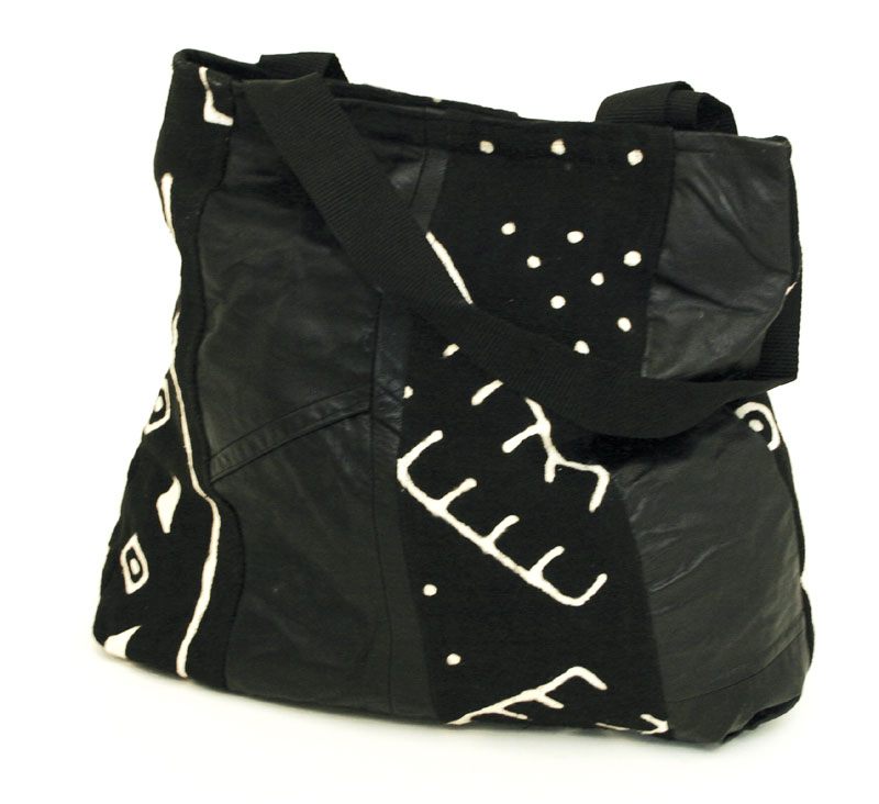 black_suede_and_mudcloth_bag